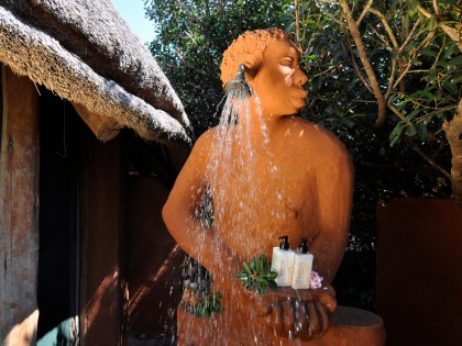 Leshiba Wilderness Funky Venda Shower (hi-res image)
