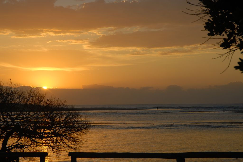 Hi-Res Sunset at Amangwane Kosi Bay South Africa