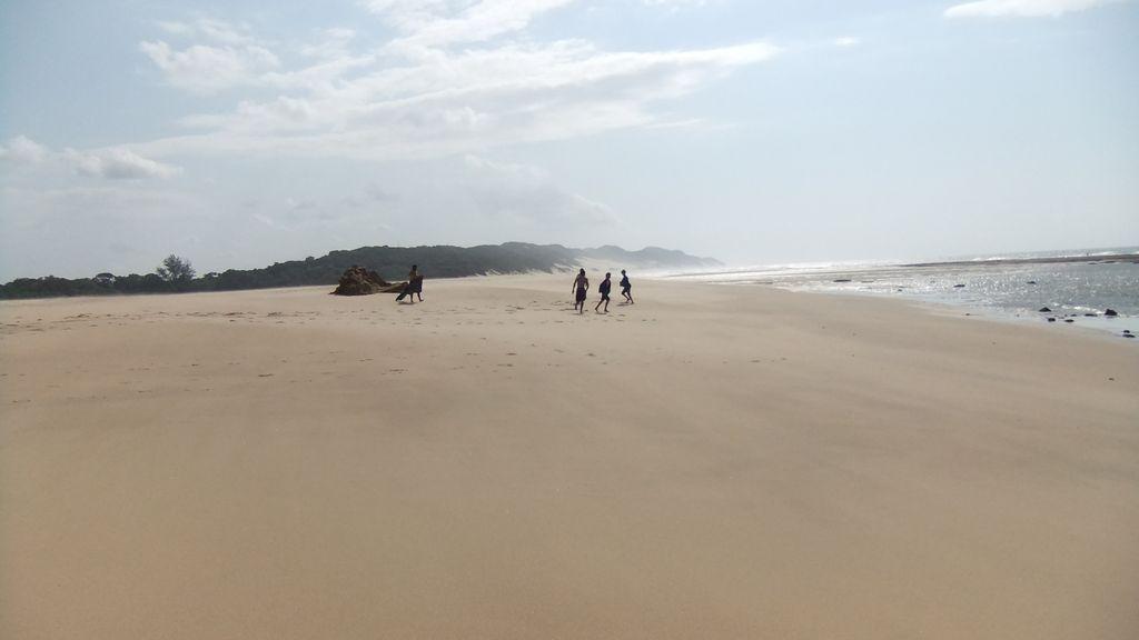 Amangwane beach Kosi Bay South Africa