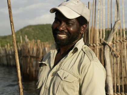 Elmon at Amangwane at fishtraps (hi-res image)