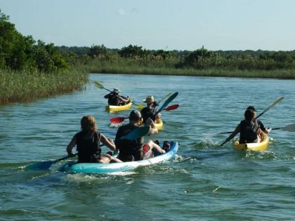 St Lucia Kayak Safari South Africa (hi-res image)