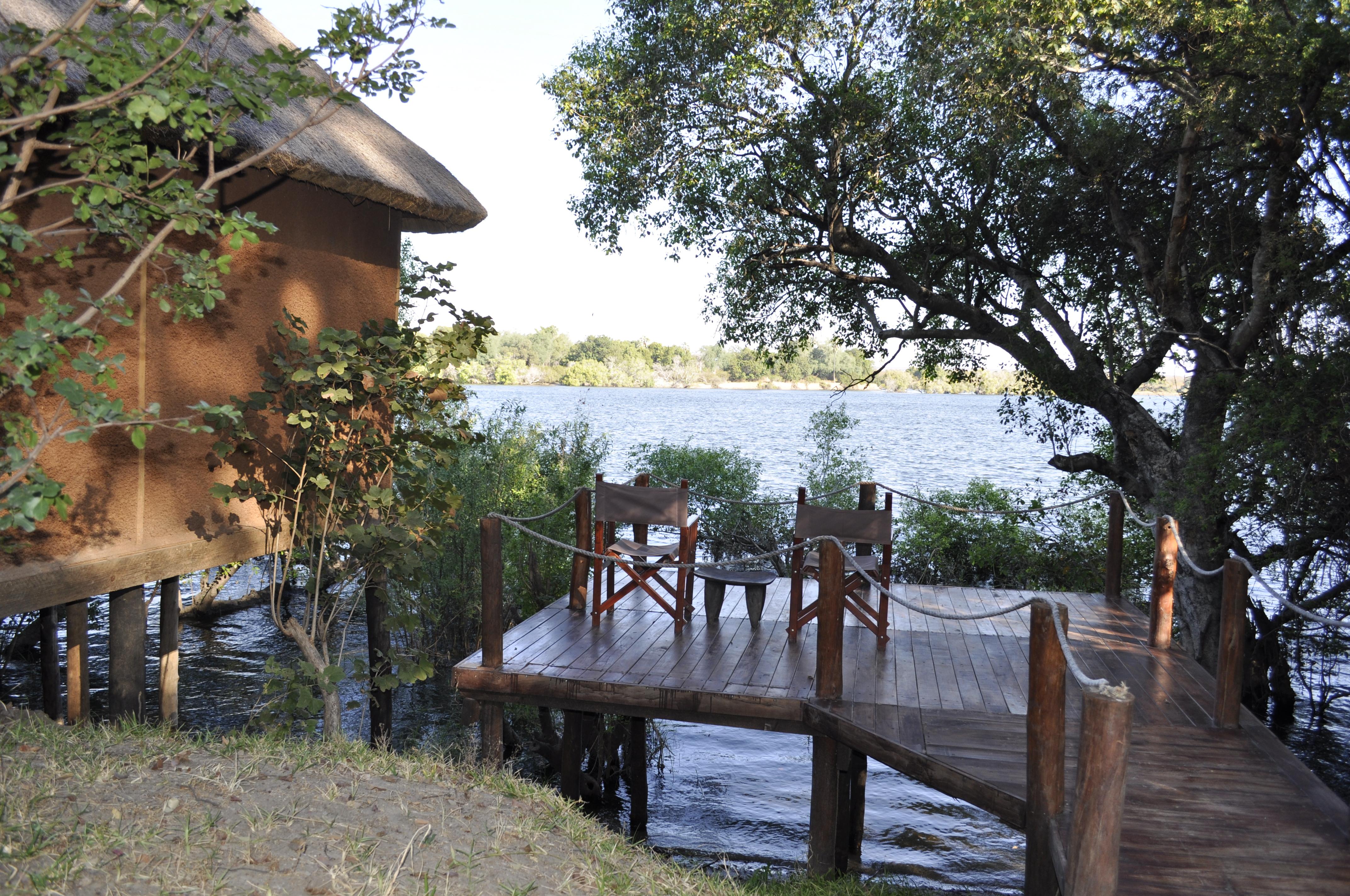 Chundukwa River Lodge Honeymoon chalet Upper Zambezi Zambia