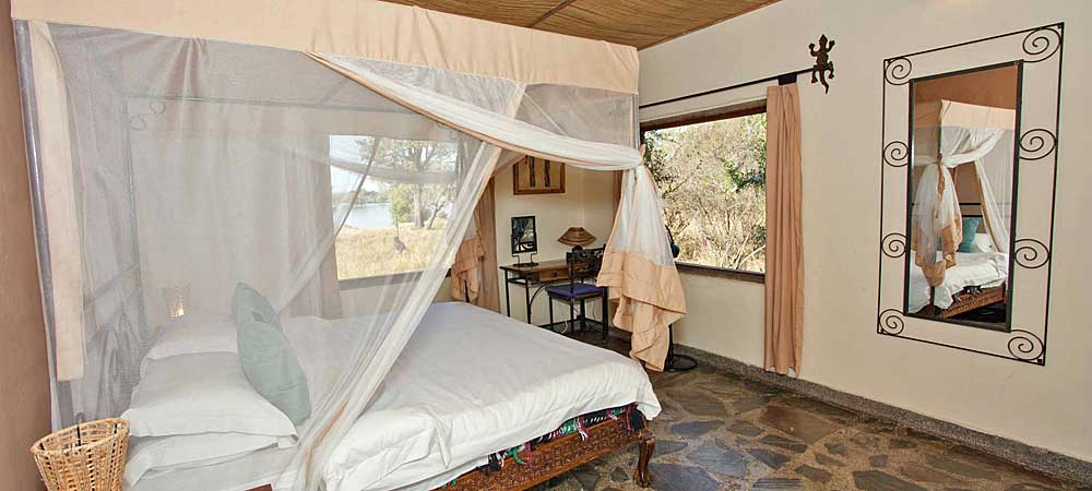 Chundukwa River Lodge Private Cottage inside Upper Zambezi Zambia