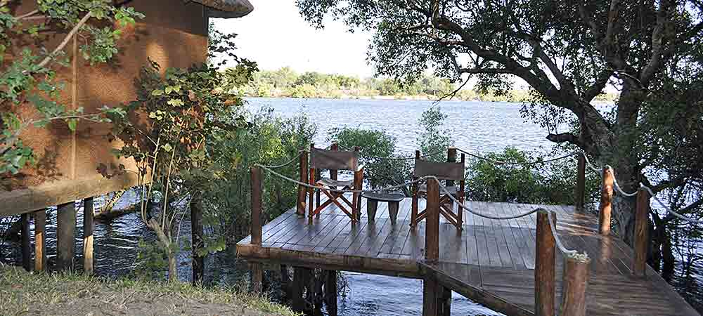 Chundukwa River Lodge Honeymoon Chalet Upper Zambezi Zambia