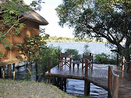 Chundukwa River Lodge Honeymoon chalet Upper Zambezi Zambia (hi-res JPG)