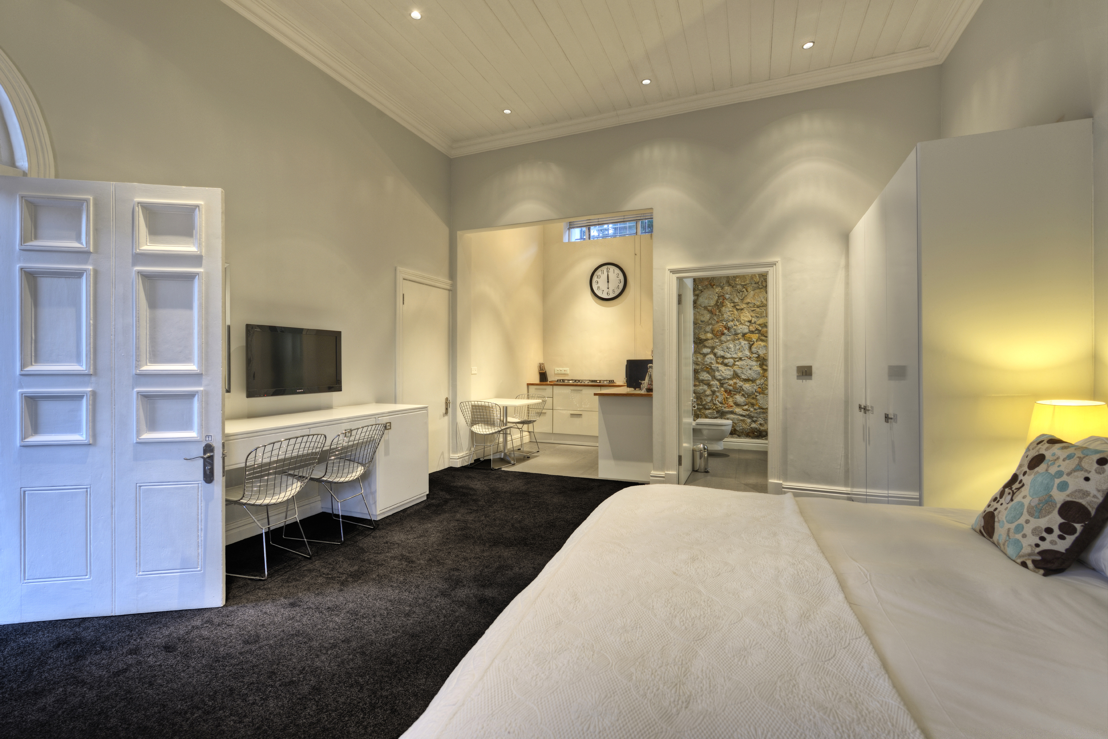 Studio suite at The Three Boutique Hotel in the Gardens district of Cape Town