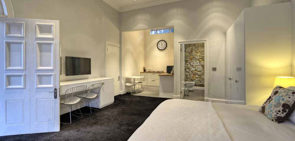 Studio suite at The Three Boutique Hotel Gardens District Cape Town