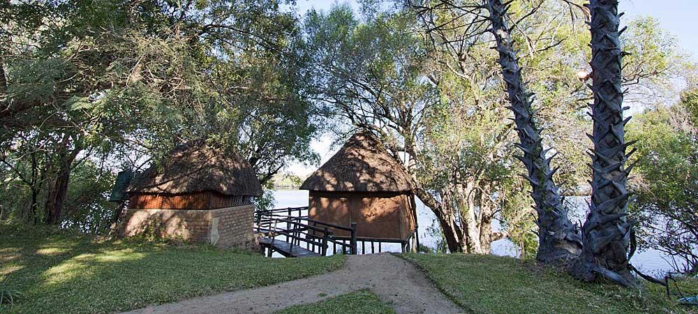 Chundukwa River Lodge Chalet Upper Zambezi Zambia 1000x450px