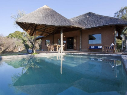 Chundukwa River Lodge Private Cottage Pool Upper Zambezi Zambia 420x315